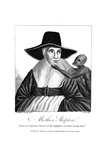 Mother Shipton (1488-C156) English Witch and Prophetess, 1804 Giclee Print by John Scott