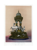 A Silver Table Fountain, 19th Century Giclee Print by John Burley Waring