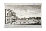 The Treasury and the Canal in St James's Park, Westminster, London, 1755 Giclee Print by John Smith