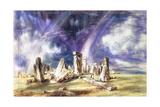 Stonehenge, C1835 Giclee Print by John Constable