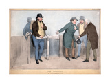 The Turnstile, a Picturesque Simile, 19th Century Giclee Print by John Doyle