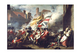 The Death of Major Peirson, 6 January 1781, 1783 Giclee Print by John Singleton Copley