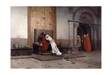 The Excommunication of Robert the Pious, 1875 Giclee Print by Jean-Paul Laurens
