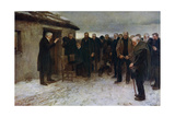 A Highland Funeral, 1882 Giclee Print by James Guthrie