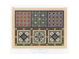 Encaustic Tiles, 19th Century Giclee Print by John Burley Waring