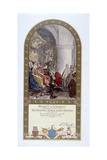 William I Granting the Charter to the Citizens of London, 1899 Giclee Print by John Seymour Lucas