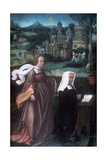 Saint Godelieve, C1485-1529 Giclee Print by Jan Provoost