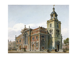 Church of St Mary, Whitechapel, London, 1811 Giclee Print by John Coney