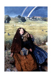 The Blind Girl, 1856 Gicléedruk van John Everett Millais