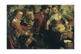 At the Market, C1554-1574 Giclee Print by Joachim Beuckelaer