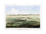 The Rocky Mountains, Looking Westward, USA, 1856 Giclee Print by John Mix Stanley