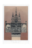 An Ivory Carved Triptych, 19th Century Giclee Print by John Burley Waring