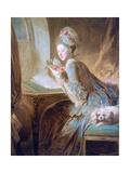 The Love Letter, C1770 Reproduction procédé giclée par Jean-Honore Fragonard
