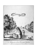 A Masquerade Scene, Kensington Gardens, 1772 Giclee Print by James Bretherton