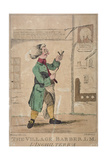The Village Barber, 1772 Giclee Print by James Bretherton