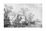 A Dutch River, 1913 Giclée-Druck von Jan Van Goyen
