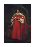 Sir Matthew Hale, KT, Chief Justice of the King's Bench, 1670 Giclee Print by John Michael Wright
