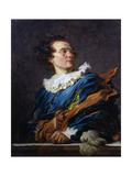 Figure of Fantasy: Portrait of the Abbot of Saint-Non, 1769 Reproduction procédé giclée par Jean-Honore Fragonard