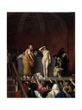 The Slave Market in Rome, C1883-C1884 Giclee Print by Jean-Leon Gerome