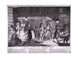 The Sailor's Adventure to the Streights of Merryland Or, an Evening View on Ludgate Hill, 1749 Giclee Print by John June