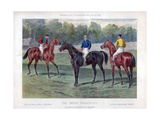 The Derby Favourites, 30 May 1896 Giclee Print by John Sturgess
