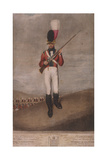 Military Figure in the Uniform of the Royal Westminster Regiment of Volunteers, C1800 Giclee Print by John Dunn