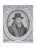 Oval Portrait of John Foxe, C1570 Giclee Print by John Sturt
