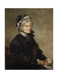 Portrait of the Artist's Mother, 1874 Giclee Print by John Gilbert