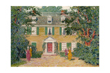 The Quincy House, New England, USA, C18th Century Giclee Print by James Preston
