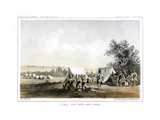 Council with White Man's Horse, 1856 Giclee Print by John Mix Stanley