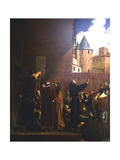 The Siege of Carcassonne, 1209 (C1858-192) Giclee Print by Jean-Paul Laurens