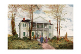 Morris-Jumel Mansion, Washington Heights, C18th Century Giclee Print by James Preston