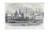 Custom House, London, C1840 Giclee Print by John Newman