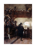 The Arrest of Councillor Broussel, 26th August, 1648 Giclee Print by Jean-Paul Laurens