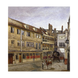 The George Inn, Borough High Street, Southwark, London, 1880 Giclee Print by John Crowther