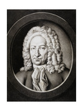 Gottfried Wilhelm Von Leibniz, German Philosopher and Mathematician, 1781 Giclee Print by Johann Elias Haid