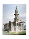 St Marylebone New Church, London, 1816 Giclee Print by John Coney