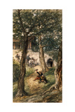 Under the Greenwood Tree, 1886 Giclee Print by John Gilbert