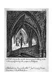 St Michael's Crypt, Aldgate, London, 1789 Giclee Print by John Carter