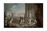 The Sons of Frederick II of Hesse-Kassel Landgrave, (1770-1829) Giclee Print by Johann Heinrich Wilhelm Tischbein