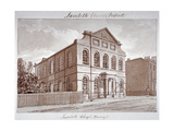 View of a Chapel on York Road, Lambeth, London, 1828 Giclee Print by John Buckler