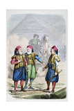 A Print from 19th Century Egypt, 1847 Giclee Print by Jean Adolphe Beauce