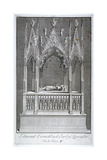 Monument to Edmund Crouchback, Earl of Lancaster, Westminster Abbey, London, 1742 Giclee Print by James Cole