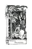 Artemis Prologizes, 1898 Giclee Print by John Byam Liston Shaw