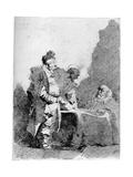 Les Traitants, C1750-1800 Reproduction procédé giclée par Jean-Honore Fragonard