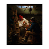 Gossip in the Hold, C1843-C1886 Giclee Print by John Morgan