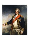 Admiral Lord Duncan, 18th Century British Naval Commander Giclee Print by John Hoppner