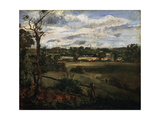 View of Highgate from Hampstead Heath, Early 19th Century Giclee Print by John Constable