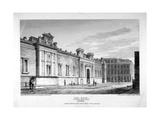 North View of the Bank of England, City of London, 1809 Giclee Print by John Burnet