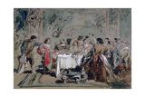 Banquet at Lucentio's House, 1859 Giclee Print by John Gilbert